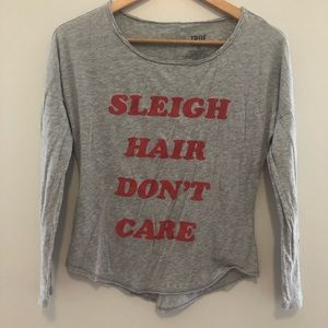 🤑 3/$20 True Craft Sleigh Hair Don't Care Shirt